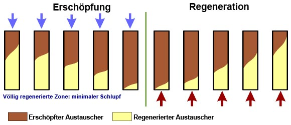 Regeneration ionenaustauscher