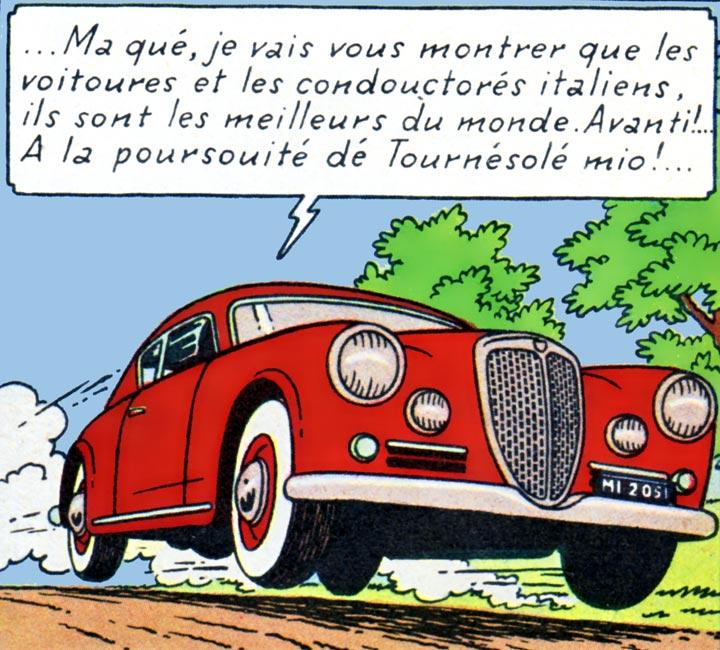 Lancia Aurelia B20 1952
